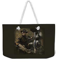 Steampunk - The Man 1 Weekender Tote Bag