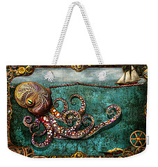 Steampunk - The Tale Of The Kraken Weekender Tote Bag