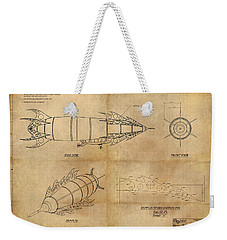 Steampunk Zepplin Weekender Tote Bag