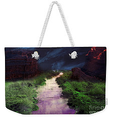 Steamy Creek Weekender Tote Bag
