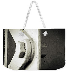 Steel Girder Weekender Tote Bag