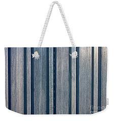 Steel Sheet Piling Wall Weekender Tote Bag