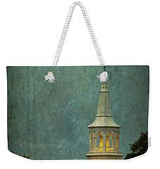 Steeple In A Storm Weekender Tote Bag