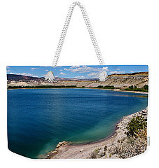 Weekender Tote Bag featuring the photograph Steinacker Reservoir Utah by Janice Rae Pariza