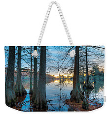 Steinhagen Reservoir Vertical Weekender Tote Bag