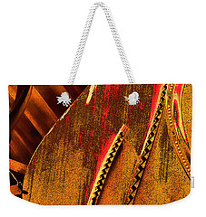 Steinway Piano Golden Inners Weekender Tote Bag