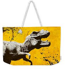 Stencil Trex Weekender Tote Bag by Pixel Chimp