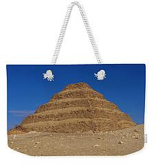 Step Pyramid Of King Djoser At Saqqara  Weekender Tote Bag