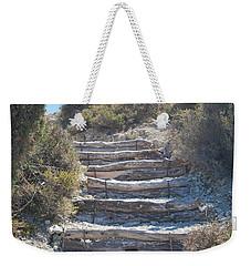 Steps In The Woods Weekender Tote Bag