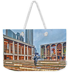 Steps To Fame Lincoln Center Weekender Tote Bag