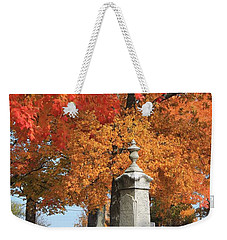 Sterling Ma Burial Ground Weekender Tote Bag