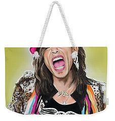 Steven Tyler 2 Weekender Tote Bag by Melanie D