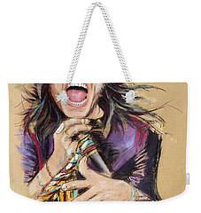 Steven Tyler Weekender Tote Bag by Melanie D
