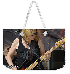 Stevie Conlon Tnt Chicago Band Weekender Tote Bag