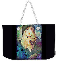 Stevie Nicks - Beret Weekender Tote Bag