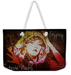 Stevie Nicks - Gypsy Weekender Tote Bag