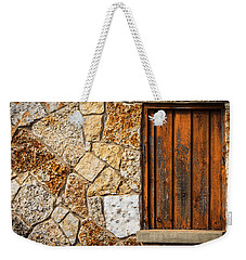 Sticks And Stone Weekender Tote Bag by Melinda Ledsome
