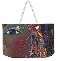 Still A Mystery Weekender Tote Bag by Helena Tiainen