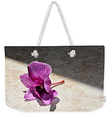 Still Beautiful Weekender Tote Bag by Ramona Matei