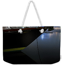Weekender Tote Bag featuring the photograph Still In The Fog by Marty Saccone