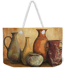 Still Life-c Weekender Tote Bag by Jean Plout