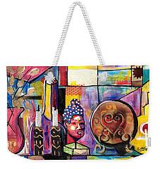 Still Life  / Carols Mantel Weekender Tote Bag
