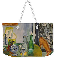 Still Life  With Lamps Weekender Tote Bag