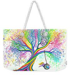 Still More Rainbow Tree Dreams Weekender Tote Bag by Nick Gustafson