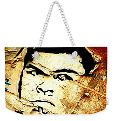 Weekender Tote Bag featuring the photograph Still Standing  by Christiane Hellner-OBrien