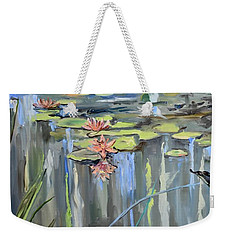 Still Waters Weekender Tote Bag by Donna Tuten