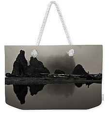 Stillness At Ruby Beach Weekender Tote Bag