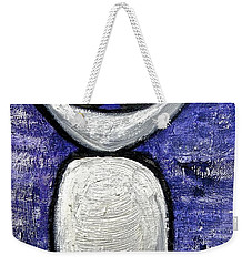 Weekender Tote Bag featuring the painting Stills 10-002 by Mario Perron