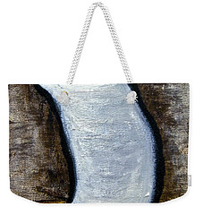 Weekender Tote Bag featuring the painting Stills 10-003 by Mario Perron