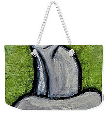Weekender Tote Bag featuring the painting Stills 10-005 by Mario Perron