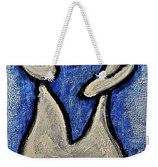 Weekender Tote Bag featuring the painting Stills 10-006 by Mario Perron