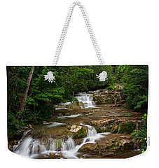 Stockbridge Falls Weekender Tote Bag by Dave Files