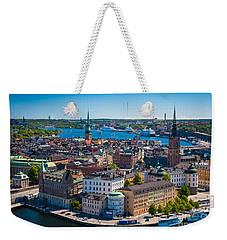Stockholm From Above Weekender Tote Bag