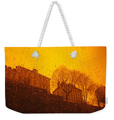 Stockholm The Heights Of South In Silhouette Weekender Tote Bag