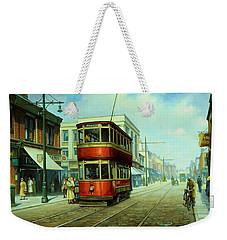 Stockport Tram. Weekender Tote Bag