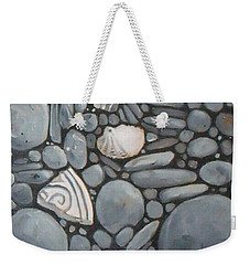 Stone Beach Keepsake Rocky Beach Shells And Stones Weekender Tote Bag