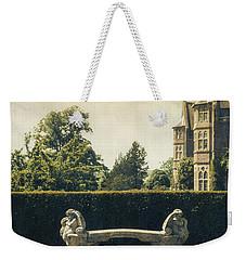 Stone Bench Weekender Tote Bag by Joana Kruse