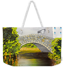 Stone Bridge At Burrowford Uk Weekender Tote Bag