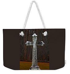 Stone Cross Weekender Tote Bag by Rowana Ray