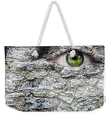 Stone Face Weekender Tote Bag by Semmick Photo