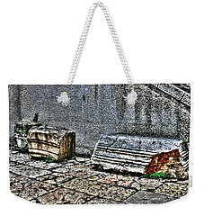 Weekender Tote Bag featuring the photograph Holy Rocks In Israel by Doc Braham