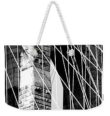 Stone Mortar And Steel Weekender Tote Bag by John Schneider
