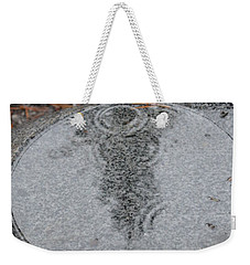 Weekender Tote Bag featuring the photograph Stone Pool Angel by Brian Boyle