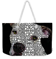 Stone Rock'd Dog By Sharon Cummings Weekender Tote Bag