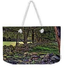 Stone Walled Weekender Tote Bag