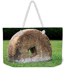 Stone Wheel Weekender Tote Bag